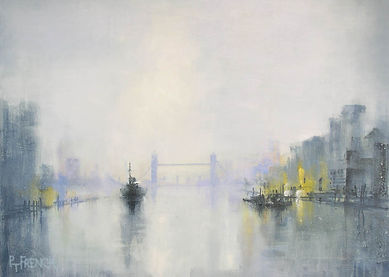 london thames pool nocturne art peter french