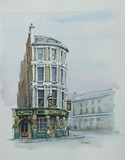 london pubs art viaduct tavern newgate