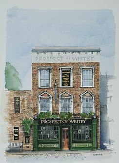london pub prospect of whitby wapping