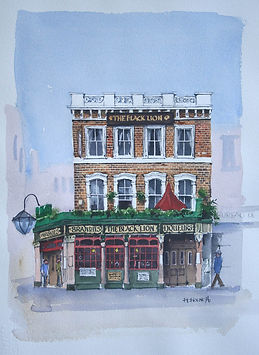 london black lion pub bayswater