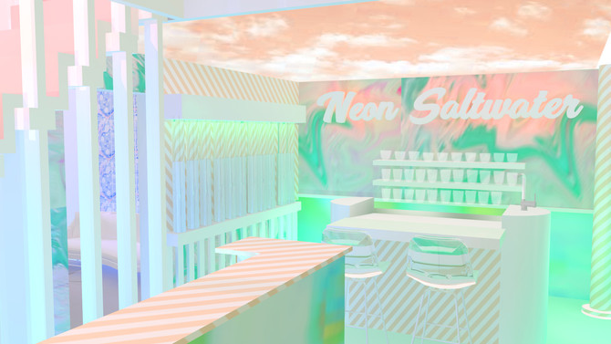 UNVIRTUAL | neon saltwater