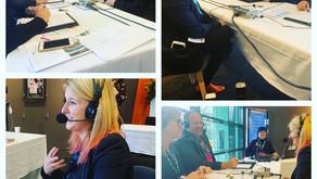 Broadcasting LIVE from Australia!