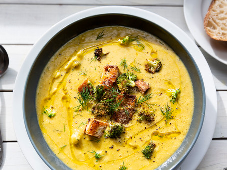 Creamy Vegan Broccoli Soup