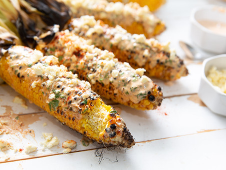 Finger-Licking' Grilled Mexican-Style Corn (Elotes)