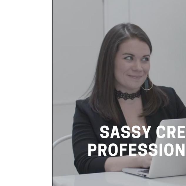 Sassy Creative Professional Clip