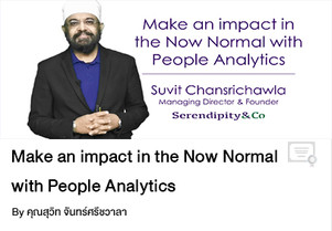 Make an impact in the Now Normal with People Analytics