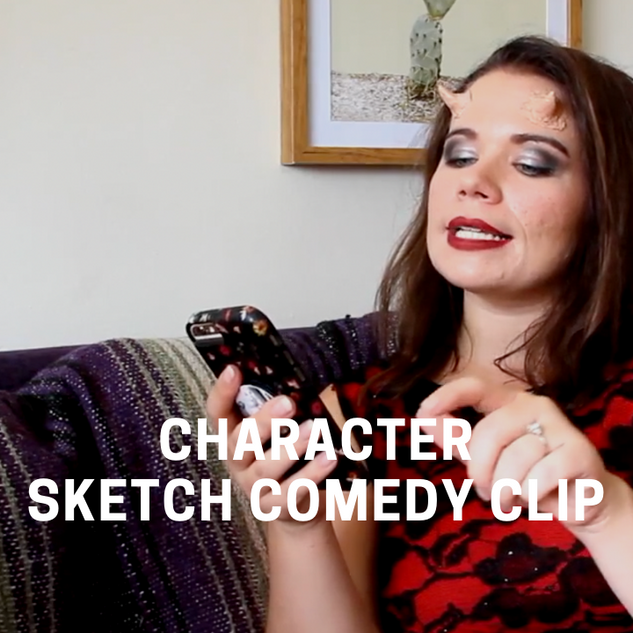 Character Sketch Comedy Clip