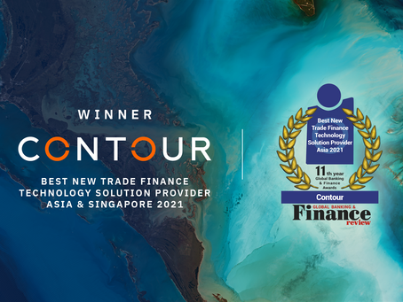 Global Banking & Finance picks Contour as Best New Trade Finance Technology Solution Provider