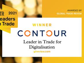 Contour named Leader in Trade for Digitalisation at 2021 GTR Awards