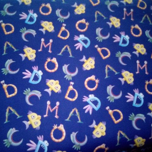 Pout Pout Fish Cotton Fabric