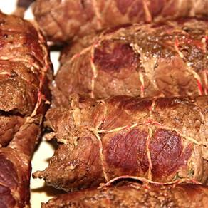 Bacon Pesto Roulades