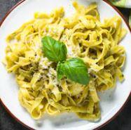 Tagliatelle aglio e olio