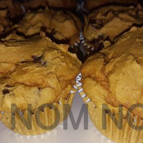 Easy Pumpkin chip Muffins