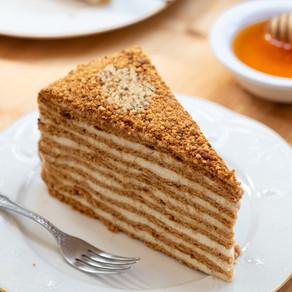 Best Russian Honey Cake