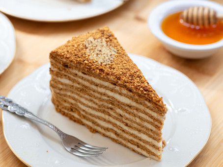 Best Russian Honey Cake