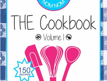So Nom Nom THE Cookbook is Half Price!!