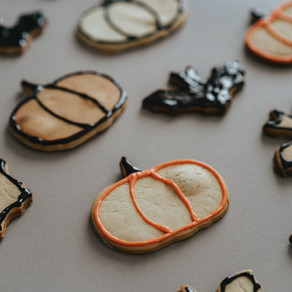 Halloween Cut-Out Cookies