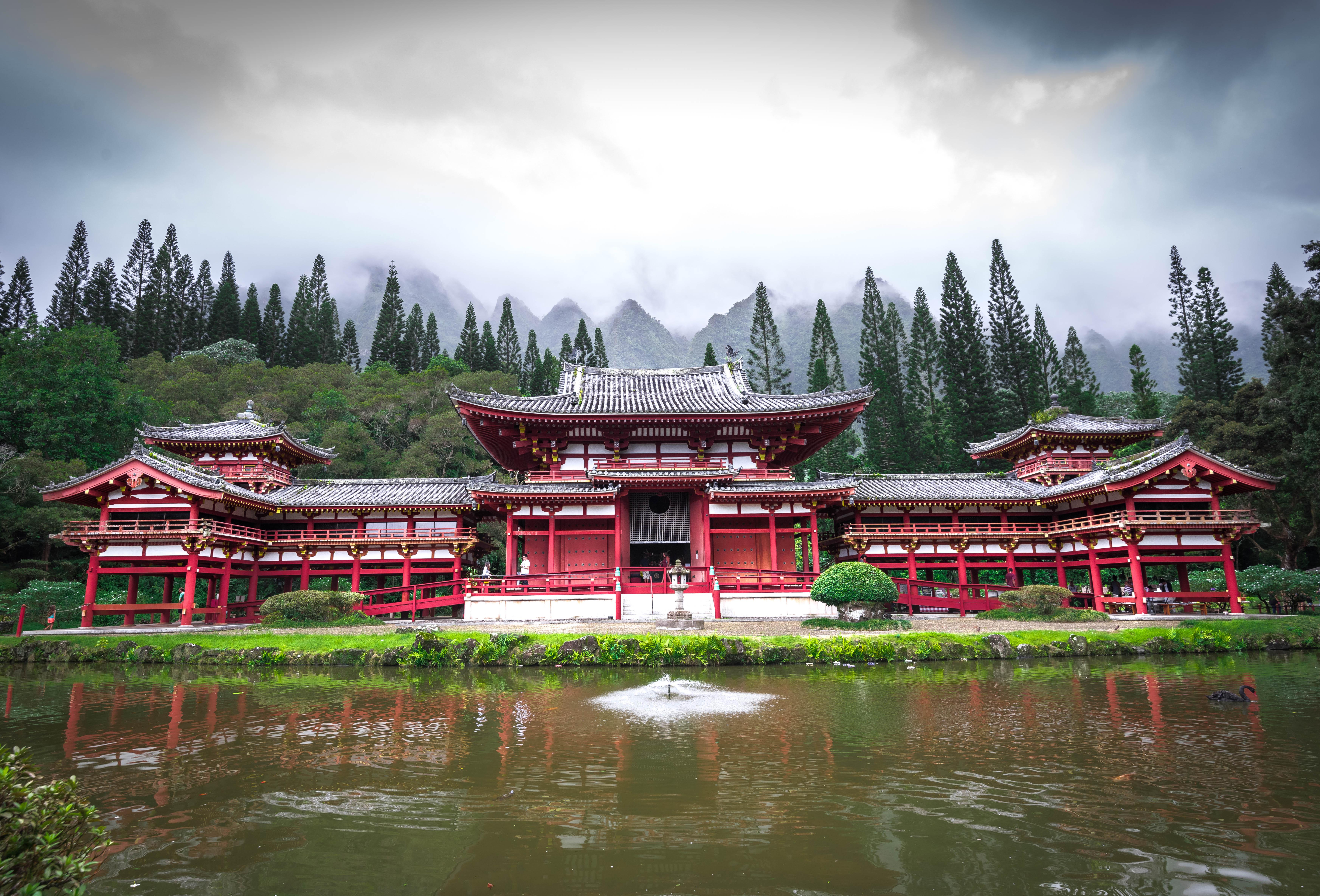 byodo-in temple oahu hawaii