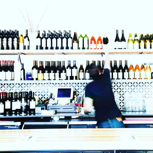 my favorite sf wine bar. and one of my favorite sf peeps