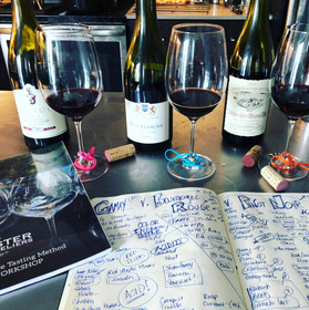 somm smackdown - pinot (carneros and burgundy) v gamay