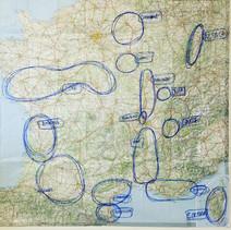 plotting trip to france
