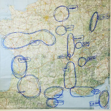 plotting trip to france