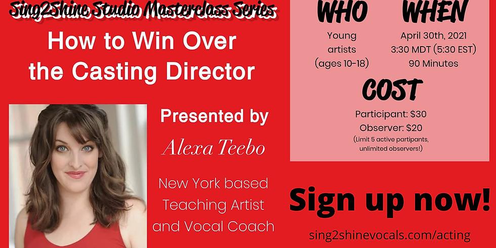 Auditioning Masterclass with Alexa Teebo