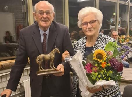 Adriaan van Mensvoort 75 jaar lid van RSV De Cavalieren!