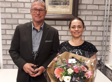 Afscheid bestuursleden Peter en Ilona