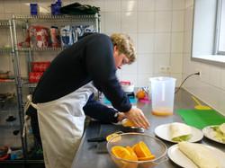 Koken in onze keuken