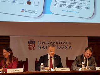 Participació en la Jornada La universitat per la mediació UB 15 de febrer de 2018
