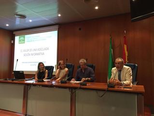 """Anna Vall en la Jornada """"La sesión informativa de mediación en los PIMED"""""""