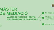 Oberta matrícula de la 8a edició Màster en mediació CDL LOGOS MEDIA
