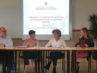Participació de Logos Media en la Jornada d'execució penal a la comunitat i Justicia restaurativ