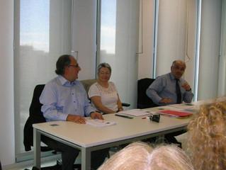 Inicios de la Coordinación de Parentalidad  Gemme, Acdma y Logos Media 2012