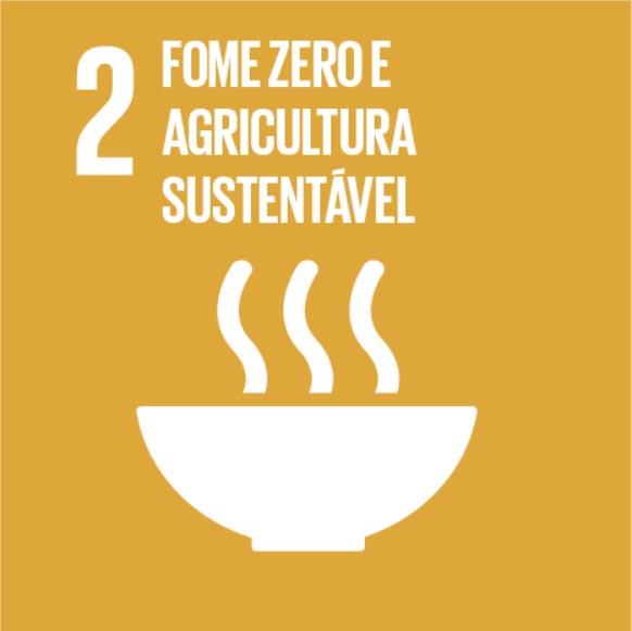 ODS busca acabar com a fome e promover a agricultura sustentável. Click na imagem e conheça as metas