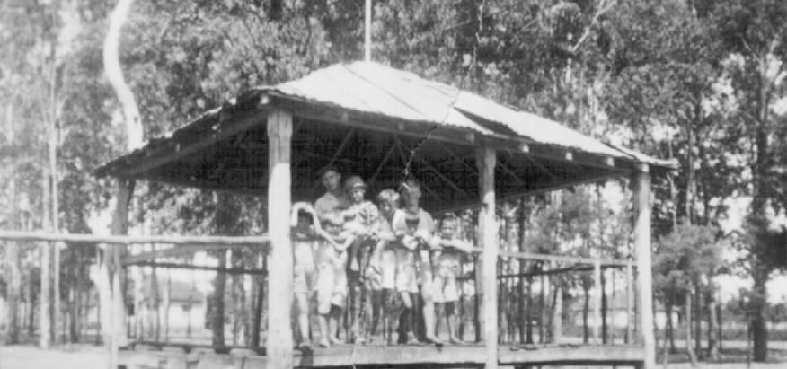 Coreto foi palco de manifestações populares