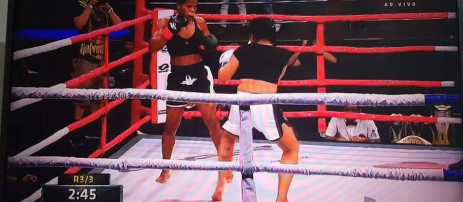 Daiane Jaqueline tem boa performance, mas é derrotada na final no Rio de Janeiro