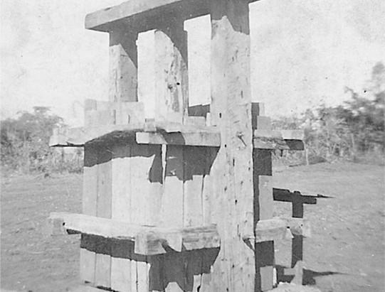 Instrumento para fabricar tijolos