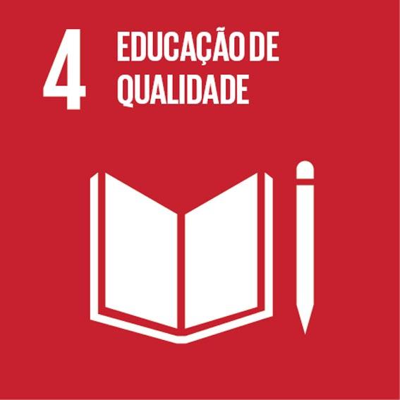 ODS busca assegurar educação inclusiva e de qualidade. Click na imagem e conheça as metas