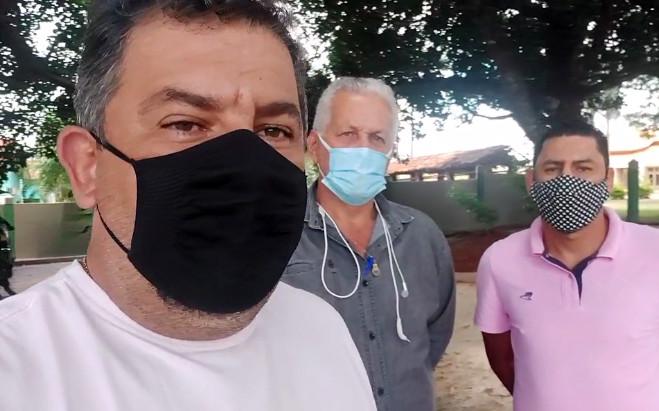 Ricardo e Contarim marcam reunião com vereadores e PM para discutirem ações contra a Covid