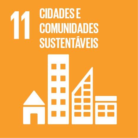 ODS busca tornar as cidades e assentamentos inclusivos, seguros e sustentáveis