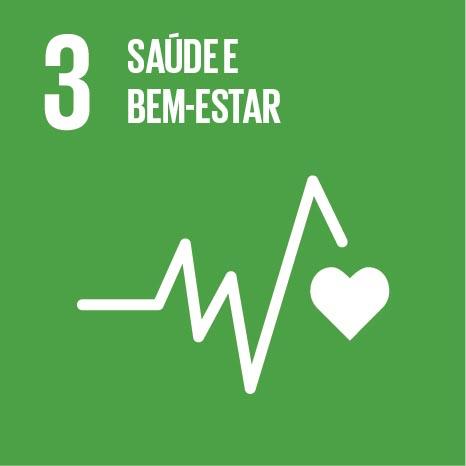 ODS busca assegurar vida saudável e promover o bem-estar social. Click na imagem e conheça as metas