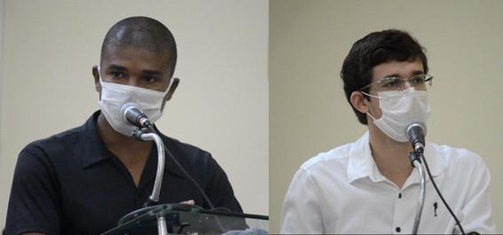 Vereadores Alison e Gabriel se posicionam de forma contrária ao retorno das aulas