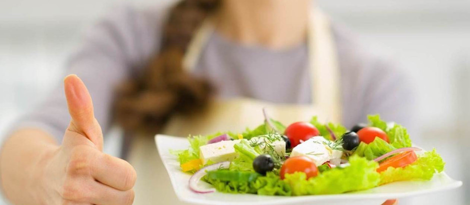 Alimentação saudável começa com a escolha correta dos alimentos