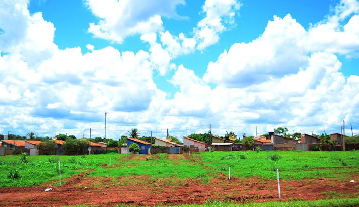Área para moradias já foi regularizada, mas município ainda não possui posse legal