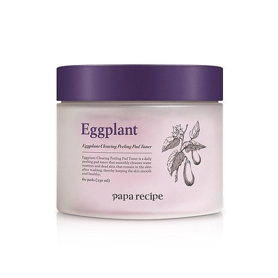 Papa Recipe Eggplant Clearing Peeling Pad Toner 230ml(60ea)