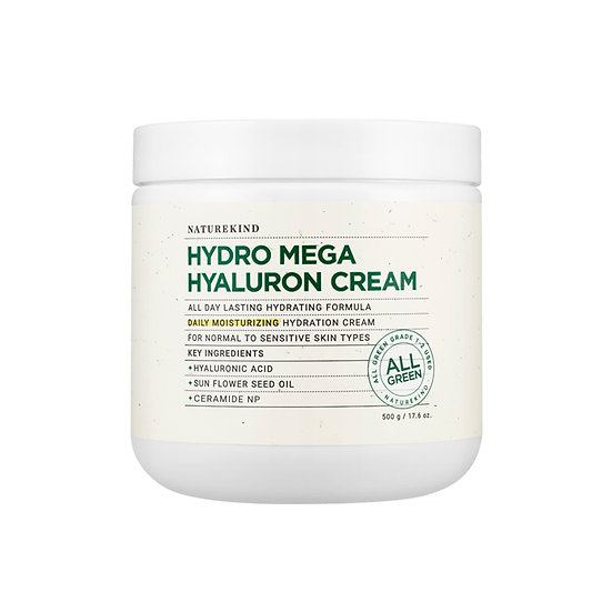 [3+1] NatureKind Hydromega hyaluron cream *500ml