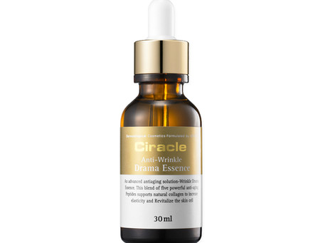 [Peptide therapy]Ciracle 'Anti-wrinkle Drama Essence' Peptide in Skincare to improve thick wrinkle