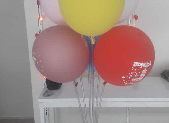 7 li balon standı